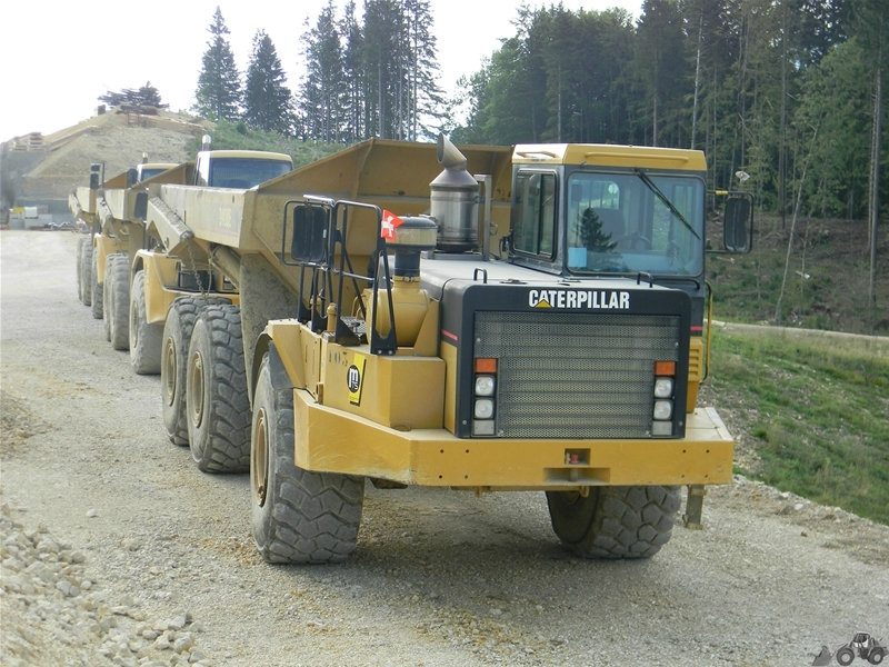 Caterpillar D 400 E series II