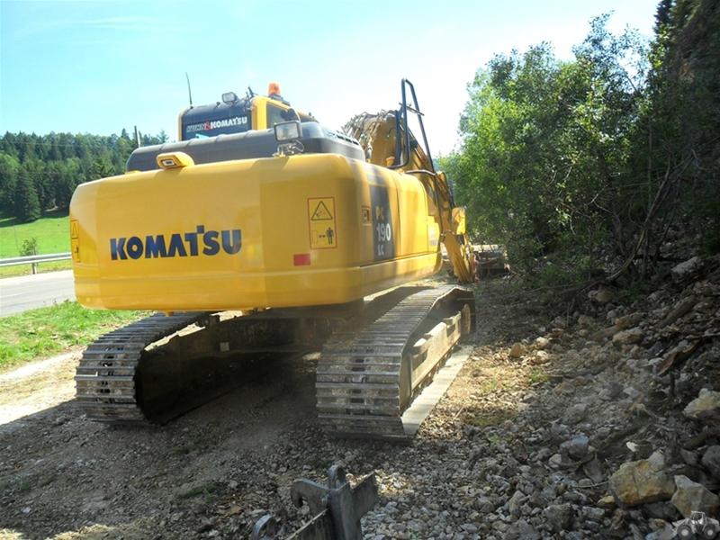Komatsu PCKomatsu PC 190 LC-8 190 LC-8