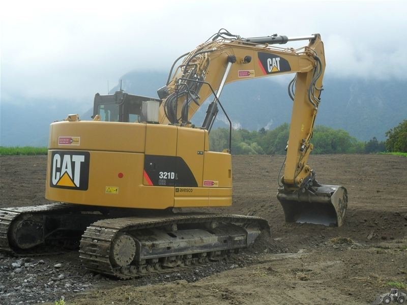 Caterpillar 321 D LCR