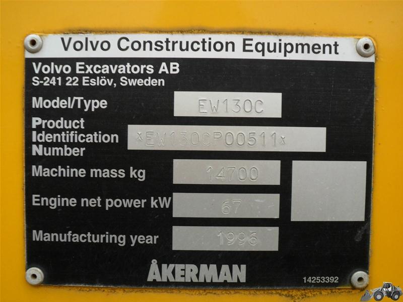 Akerman EW 130 C