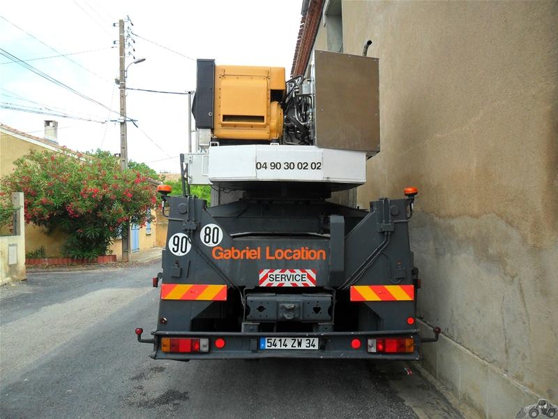 Les camions nacelles