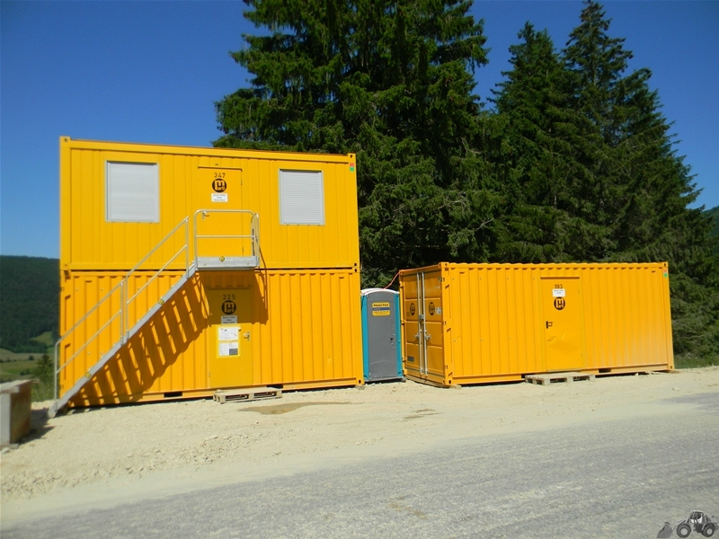 Roulottes et containers