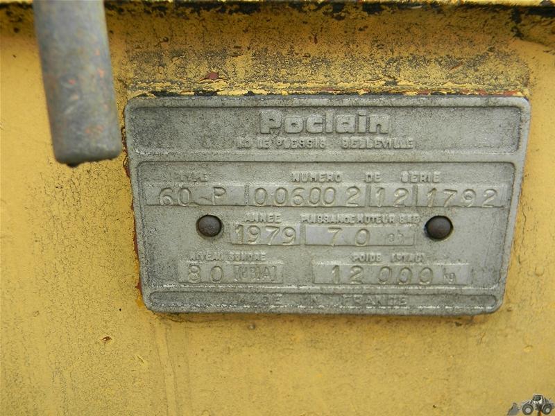 Poclain 60 P