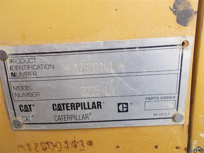 Caterpillar 322 B LN