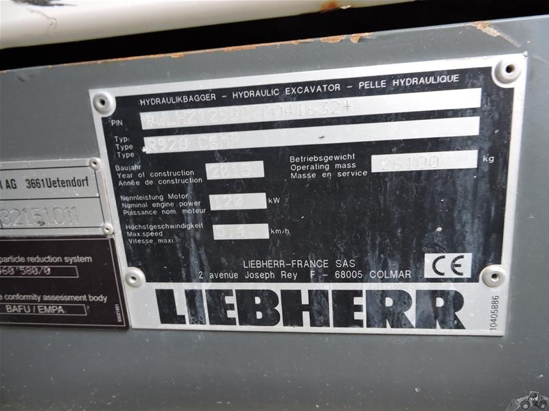 Liebherr R 926 COMPACT