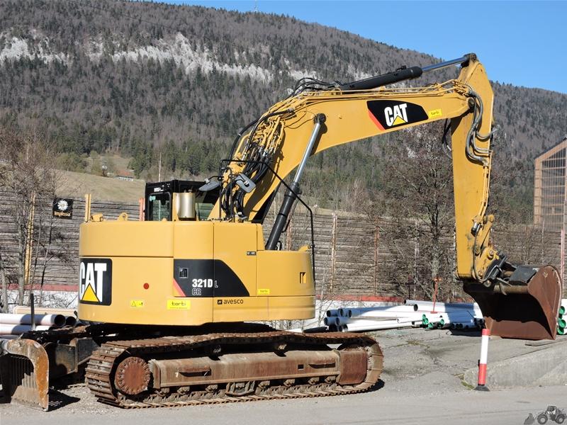 Caterpillar 321 D LCR