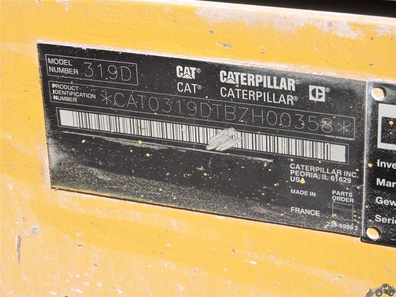 Caterpillar 319 D