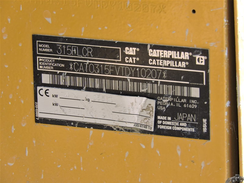 Caterpillar 915 F LCR