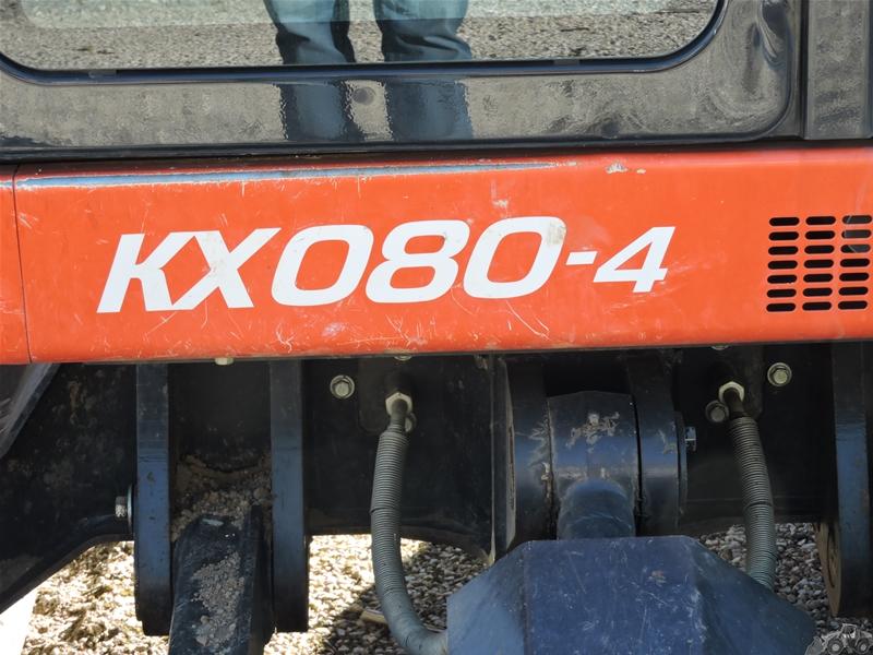 Kubota KX 080-4