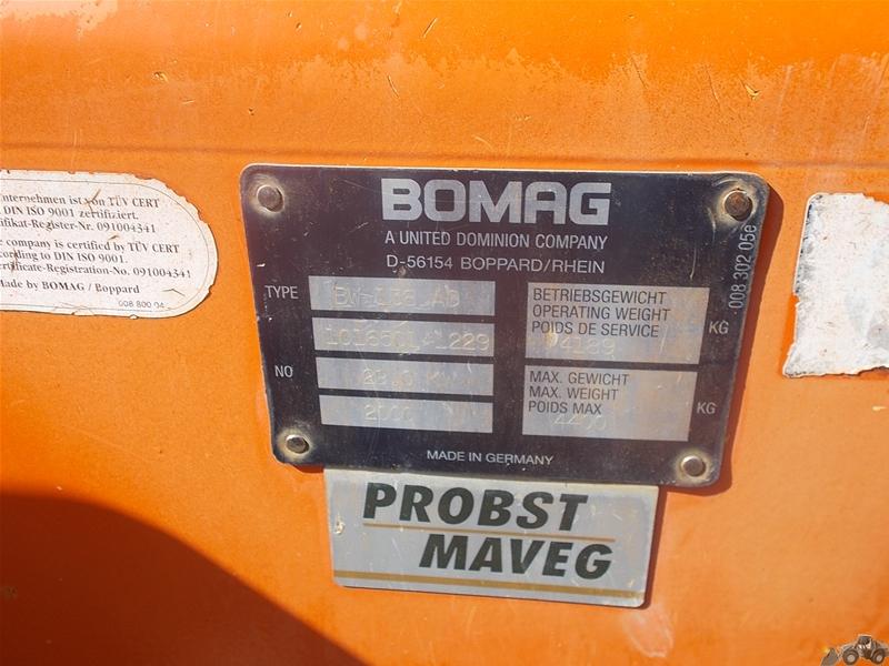 Bomag BW 138 AD