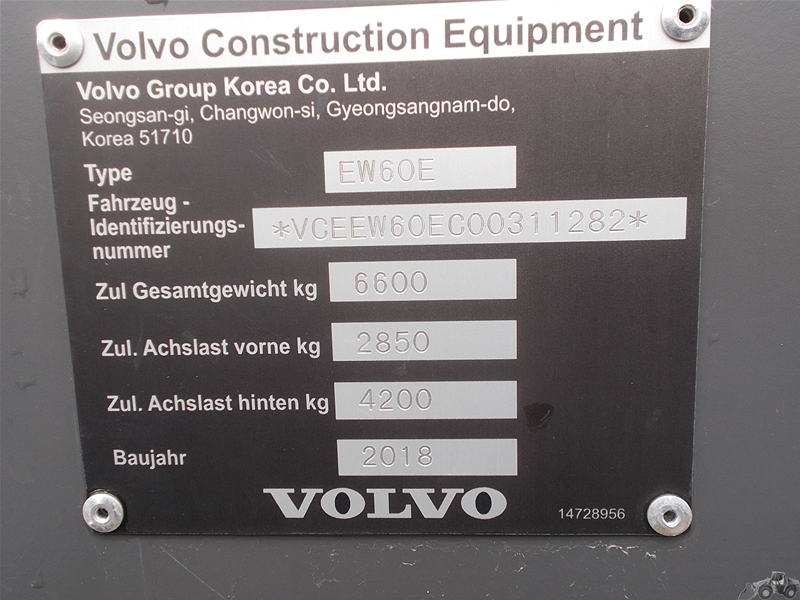 Volvo EW 60