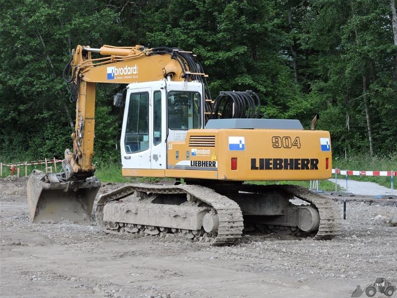 Liebherr R 904 HDSL LITRONIC
