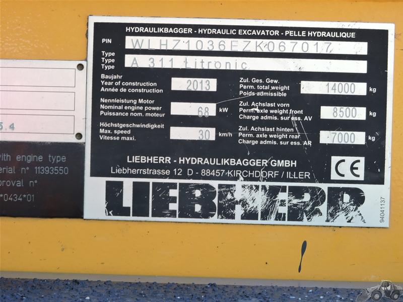 Liebherr A 311 LITRONIC