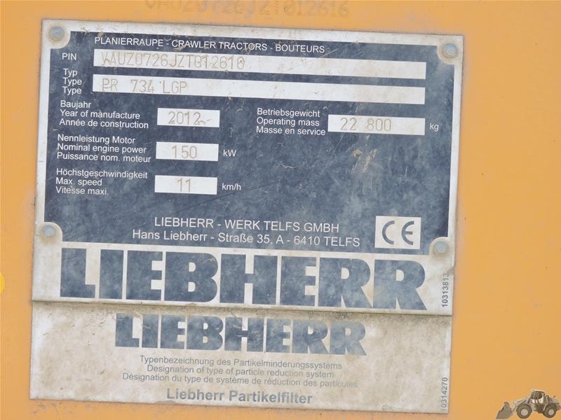 Liebherr PR 734 LGP