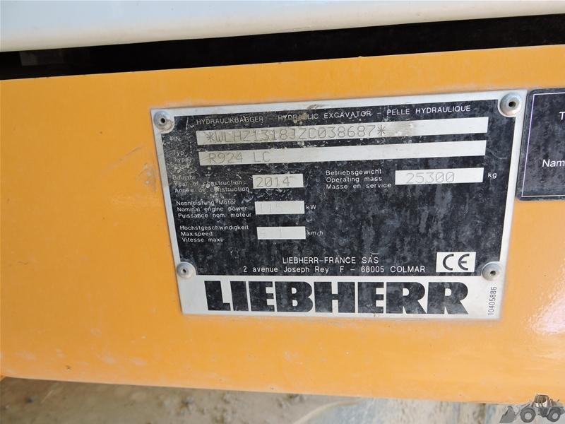 Liebherr R 924 LC