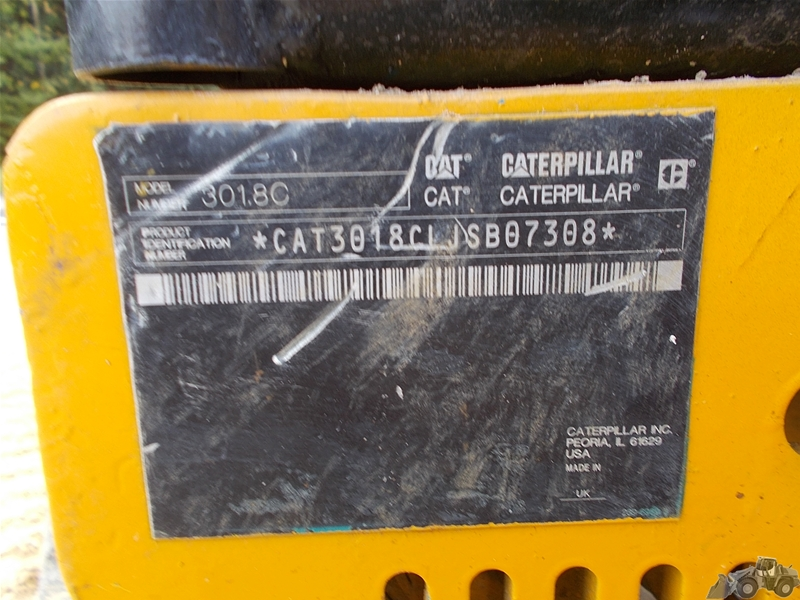 Caterpillar 301.8 C
